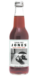 Jones Sugar Free Black Cherry Soda