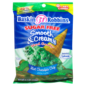 Baskin Robbins Sugar Free Smooth & Creamy Mint Chocolate Chip Hard Candy
