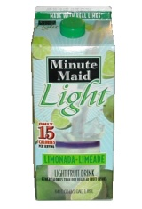 Minute Maid Light Limonada-Limeade