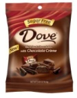 Sugar Free Dove Rich Dark Chocolates With Chocolate Creme
