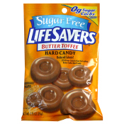 Sugar Free LifeSavers Butter Toffee Hard Candy
