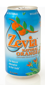 Zevia Sugar Free Natural Orange