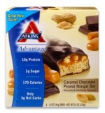 Atkins Advantage Caramel Chocolate Peanut Nougat Bar