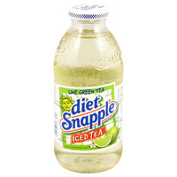 Sugar Free Drinks - Diet Snapple Lime Green Tea