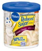 Low Carb Snacks - Pillsbury Reduced Sugar Cream Cheese Cake Frosting
